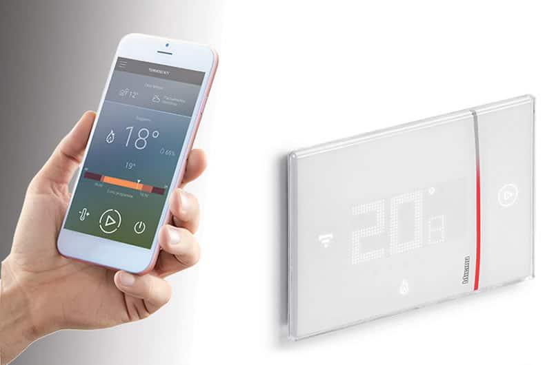 termostato intelligente bticino, installazione a cura di elettricista lodi