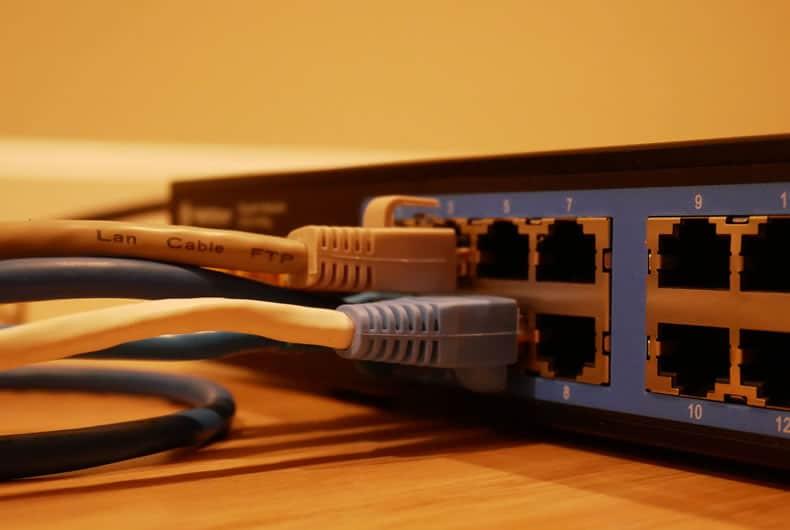 esempio di router switch