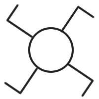 simbolo invertitore