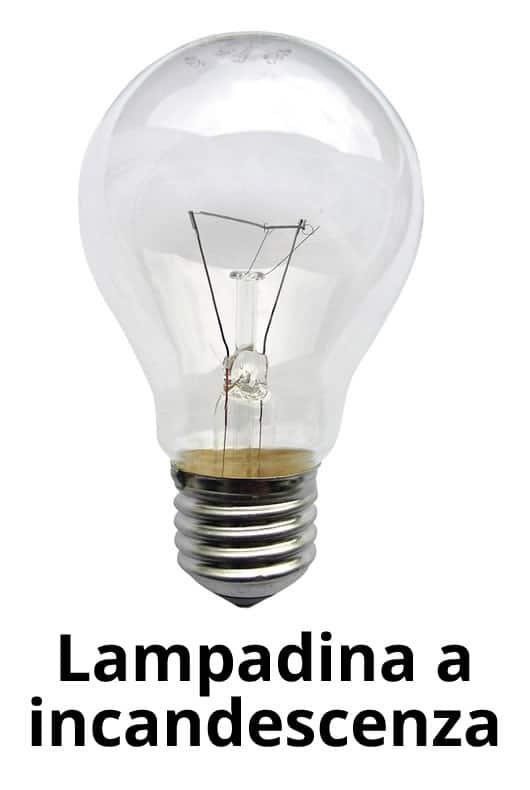 lampadina a incandescenza