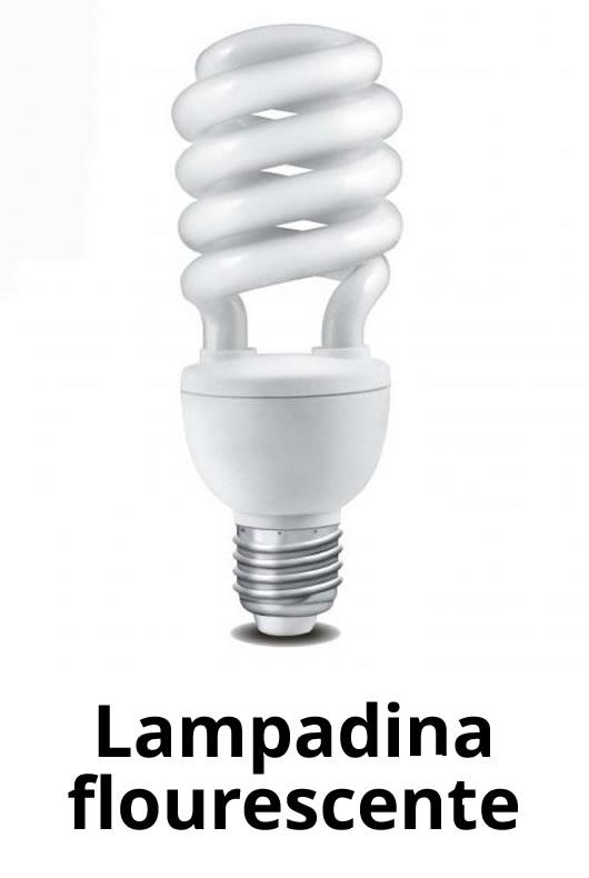 lampadina flourescente
